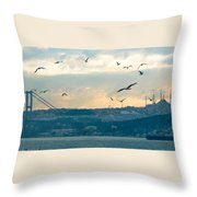 Istanbul, Morning Throw Pillow