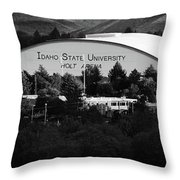 Isu Campus Throw Pillow