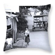 It All Passes You Tyre Throw Pillow
