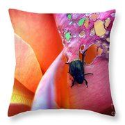 It Bugged Me Throw Pillow