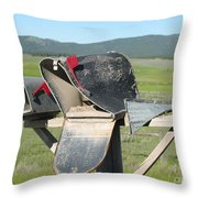 It Caught Me Off Guard Throw Pillow