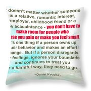It Doesn't Matter Throw Pillow
