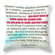 It Doesn't Matter Throw Pillow