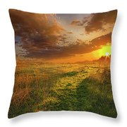It Hitches The Soul To The Stars Throw Pillow