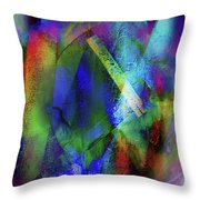 It Is About Time Intersecting Wondrous Cross Throw Pillow