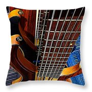 It Is All About That Bass Throw Pillow
