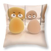 It Is All Relative Throw Pillow