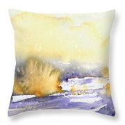 It Is Always Snowing Somewhere 02 Throw Pillow