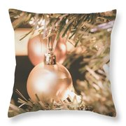 It Is Christmas 3 Throw Pillow