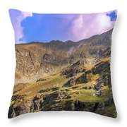 It Is Cold Up There Throw Pillow