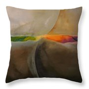 It Is Not Black And White Throw Pillow