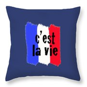 It Is The Life Throw Pillow