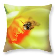 It Just Wouldn't Bee Spring Without ... Throw Pillow