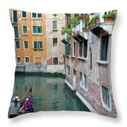 It Must Be Venice Throw Pillow