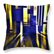 Where The Light Exists Throw Pillow