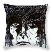 It Takes A Worried Man Throw Pillow by Judith Redman