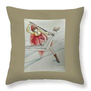 It Takes Time Throw Pillow