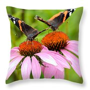 It Takes Two To Tango Throw Pillow