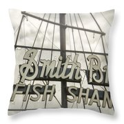 It Was A Dark And Stormy Afternoon Throw Pillow