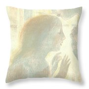 It Was A Religious Mystery Throw Pillow
