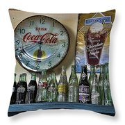 It Was Time For A Drink Throw Pillow