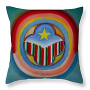 Italian American Throw Pillow