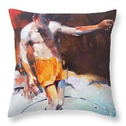 Italian Bathers 1 Throw Pillow