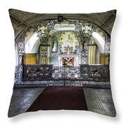 Italian Chapel Interior Throw Pillow