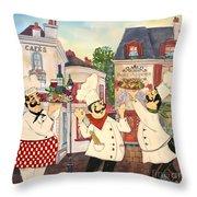 Italian Chefs-jp3042 Throw Pillow