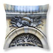 Italian Cherubs Throw Pillow