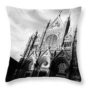 Italian Church Throw Pillow