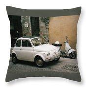 Italian Classic Commute  Throw Pillow