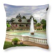 Italian Fountain Maymont  Throw Pillow