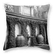 Italian Garden Throw Pillow