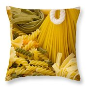Italian Pasta Throw Pillow