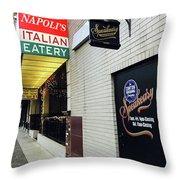 Italian Speakesy Throw Pillow