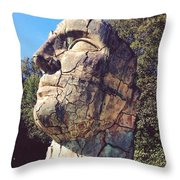 Italian Statue Throw Pillow