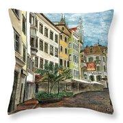 Italian Village 1 Throw Pillow