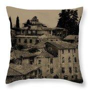 Italian Villas Throw Pillow