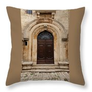 Italy - Door Eighteen Throw Pillow