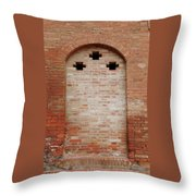 Italy - Door Fourteen Throw Pillow
