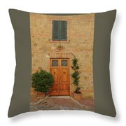 Italy - Door Nine Throw Pillow