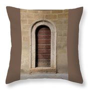 Italy - Door Ten Throw Pillow