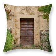 Italy - Door Twenty Five Throw Pillow