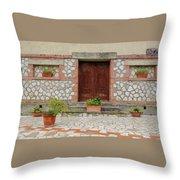 Italy - Door Twenty Two Throw Pillow