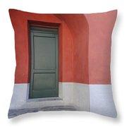 Italy - Door Two Throw Pillow