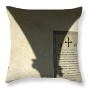 Italy, Florence, Biblioteca Medicea Throw Pillow