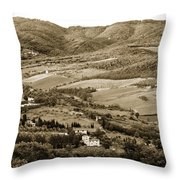 Italy From Above Throw Pillow