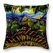 Italy Graphics Throw Pillow