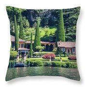 Italy Home Throw Pillow